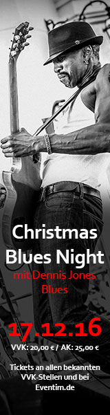 Christmas Blues Night mit Dennis Jones Blues | 17.12.2016 | Club Tante JU | Dresden | Konzert