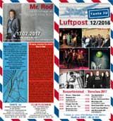 Programmheft Dezember 2016 | Tante JU, Dresden | Luftpost