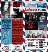 Programmheft Januar 2017 | Tante JU, Dresden | Luftpost | Konzerte in Dresden