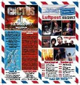 Programmheft März 2017 | Tante JU, Dresden | Luftpost | Konzerte in Dresden