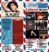 Programmheft Mai 2017 | Tante JU, Dresden | Luftpost | Konzerte in Dresden