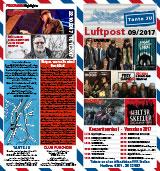 Programmübersicht | Flyer | September 2017 | Club Tante JU, Dresden | Konzerte