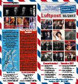 Programmübersicht | Flyer | Oktober 2017 | Club Tante JU, Dresden | Konzerte