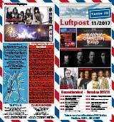 Programmübersicht | Flyer | November 2017 | Club Tante JU, Dresden | Konzerte