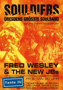 Fred Wesley and The New JBs   Club Tante JU   Konzert   Soulband