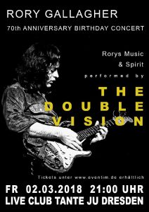The Double Vision | Club Tante JU, Dresden | Konzert