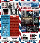 Programmübersicht | Flyer | Dezember 2017 | Club Tante JU, Dresden | Konzerte