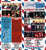 Programmübersicht   Flyer   April 2018   Club Tante JU, Dresden   Konzerte