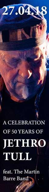 27.04.18   Jethro Tull´s Martin Barre & Band 50th anniversary celebration – Best of Jethro Tull   Club Tante JU, Dresden, Konzert