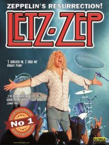 LETZ-ZEP | UK`S MOST AUTHENTICLED ZEPPELIN TRIBUTE BAND | Club Tante JU, Dresden | Konzert