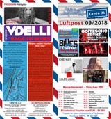 Programmheft September 2018 | Club Tante JU, Dresden | Konzerte