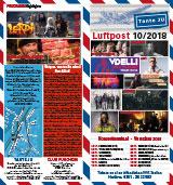 Programmheft Oktober 2018 | Club Tante JU, Dresden | Konzerte