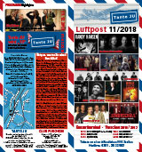 Programmheft November 2018 | Club Tante JU, Dresden | Konzerte